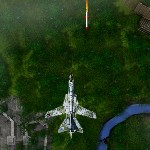 Военный самолет против вертолетов