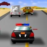Полицейская стрелялка на машинах