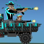 На грузовике против зомби