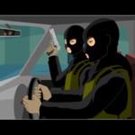 Спецагент 007 на задании