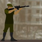 Выстрелы с отскоками