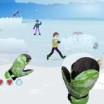 Игра в снежки онлайн