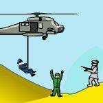 Пилот военного вертолета