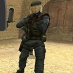Отважный боец в армии