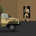 Стрелялка в военном городе