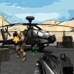 Солдат против бандитов в крутой стрелялке