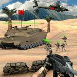 Защита танка на острове от нападения
