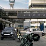 Перестрелка в аэропорту