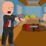 Игра стрелялка: Агент Смит