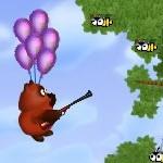 Винни Пух на воздушном шарике