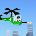Бен Тен на вертолете