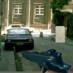 Стрелялка с мишенями в городе