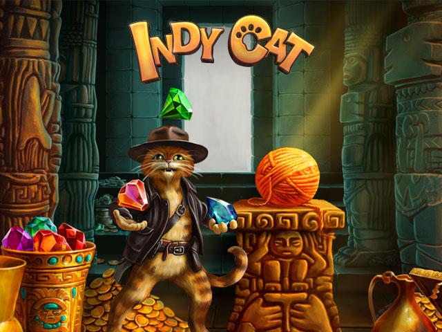 Image Инди кот - онлайн игра