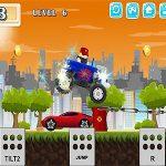 Онлайн гонки — водитель на монстр-грузовике