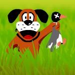 Игра: Охота на уток с собакой