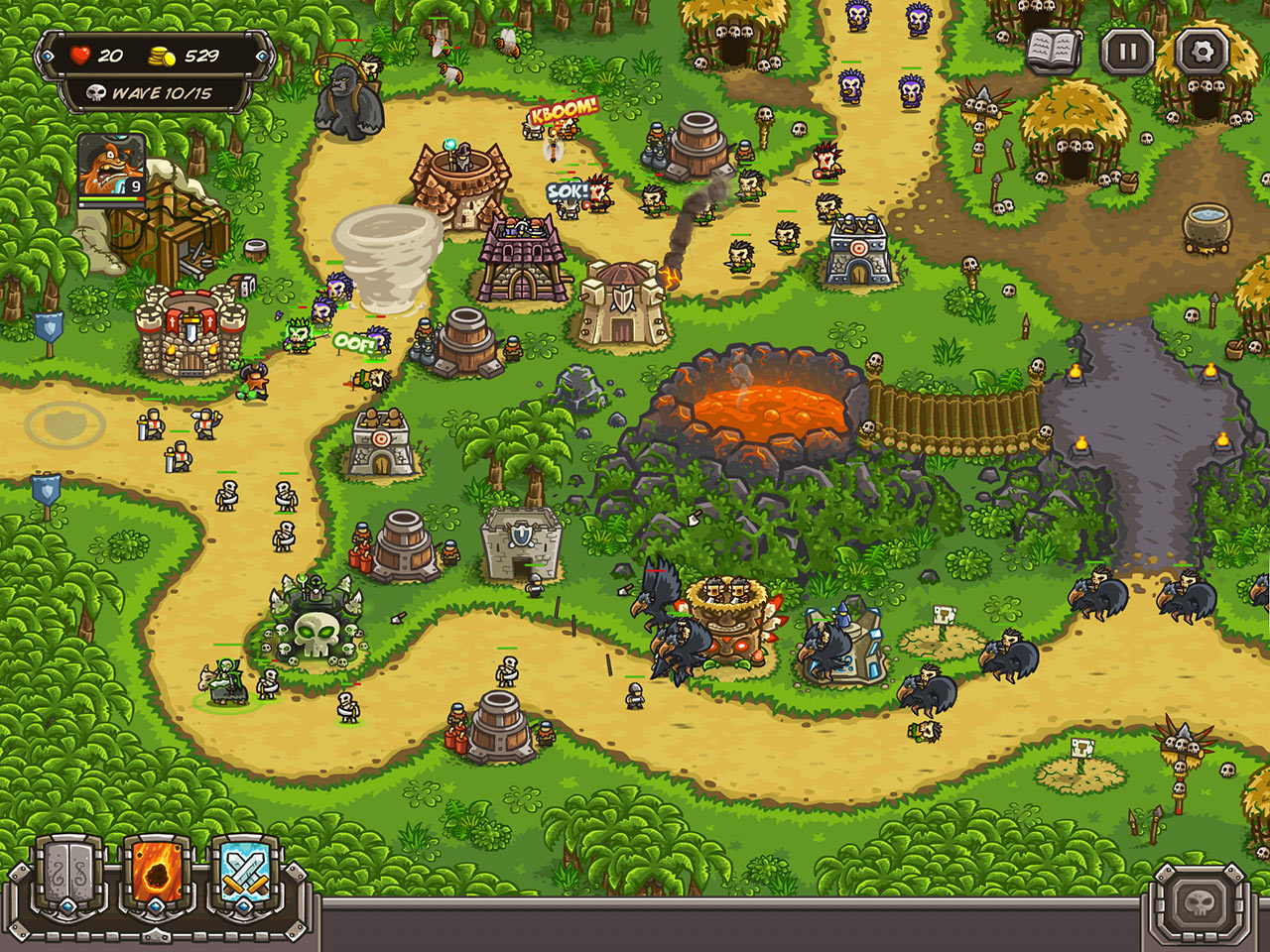 KINGDOM RUSH FRONTIERS онлайн стратегия